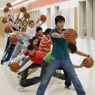 High School Musical 2 (the movie we were all secretly super excited about)