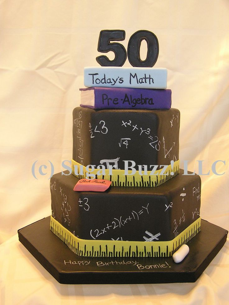 Math Cake Decorations