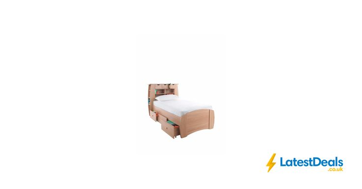 Kidspace Orlando Single Bed with Storage, Shelves (Optional Mattress), £157 at Littlewoods
