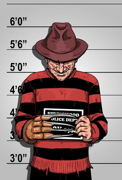 Usual Suspects – Mr. Krueger by b-maze