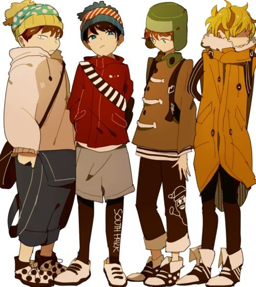 South Park ~~ South Park would actually look pretty awesome if it was an anime.