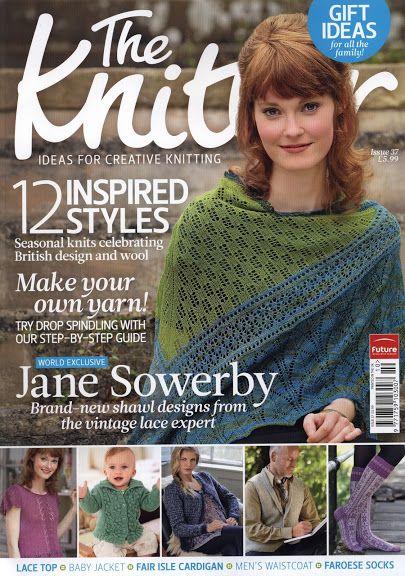 The 152 best the Knitter images on Pinterest | Crochet books ...
