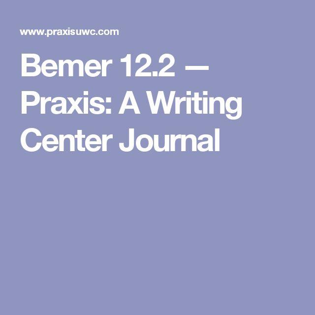 writing center journal impact factor