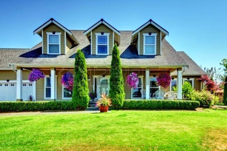 Contoh Desain Halaman Rumah Ala Amerika | Desain Rumah Ku