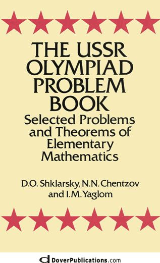 120 best dover images on pinterest learning school and knowledge the ussr olympiad problem book selected problems and theorems of elementary mathematics fandeluxe Images