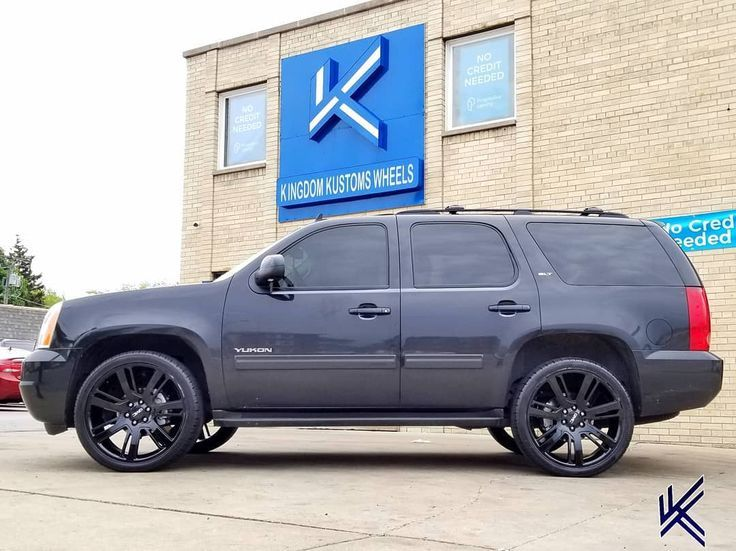 Gmc Yukon Denali Flexin On The 24inch Replica Wheels Kingdomteam