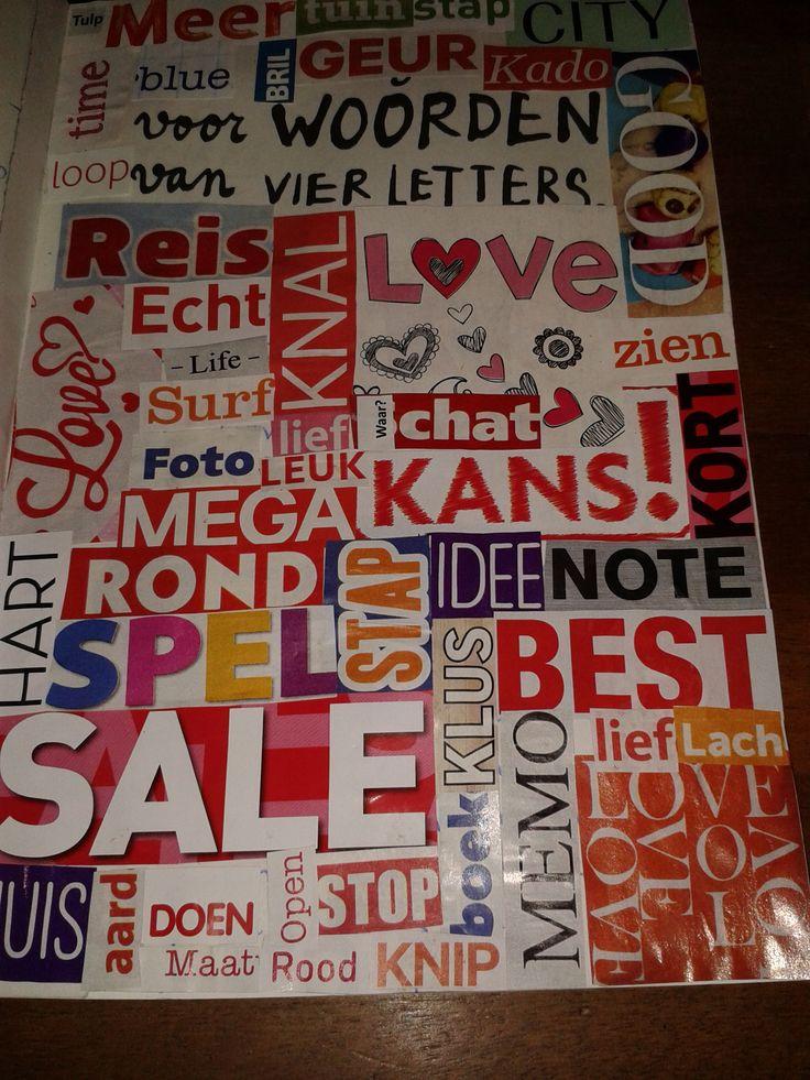 woorden van vier letters