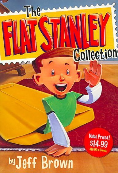Flat Stanley Collection Box Set: Flat Stanley, Invisible Stanley, Stanley in Space, and Stanley, Flat Again! (Flat Stanley)