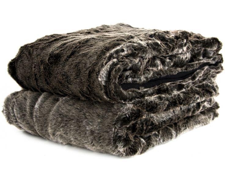 Silver Bear Faux Fur Snuggler - Bedlinen & Throws | Weylandts