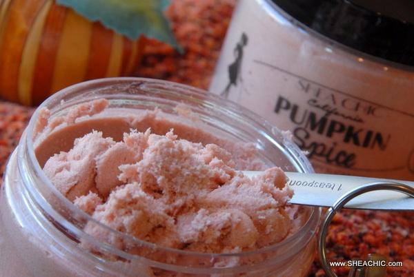 PUMPKIN SPICE Cinnamon Pumpkin Whipped Soapy Sugar Scrub