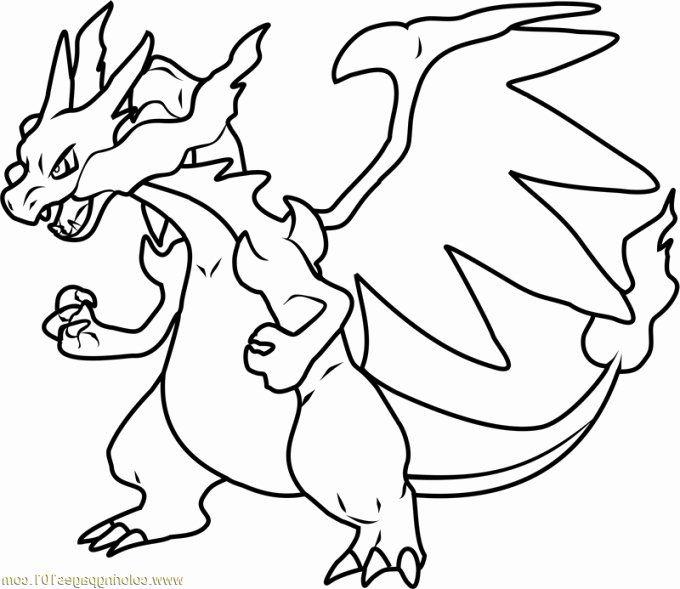 Mega Charizard X Coloring Page Beautiful Mega Charizard X Drawing Pikachu Coloring Page Pokemon Coloring Pages Pokemon Coloring