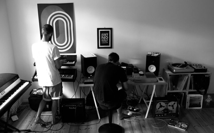 Max Graef & Glenn Astro in their Berlin studio