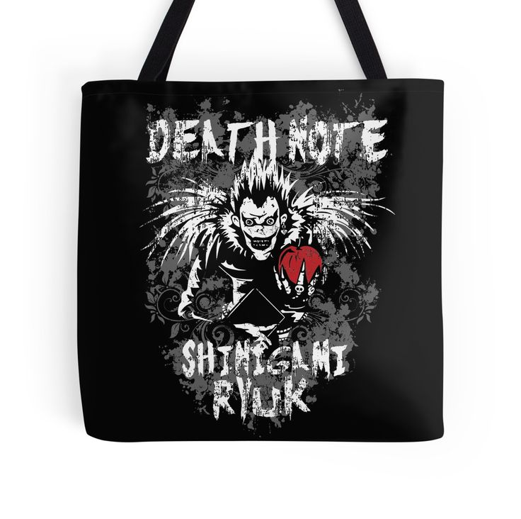 Shinigami Ryuk Death Note Anime Shirts and Merch by oncemoreteez