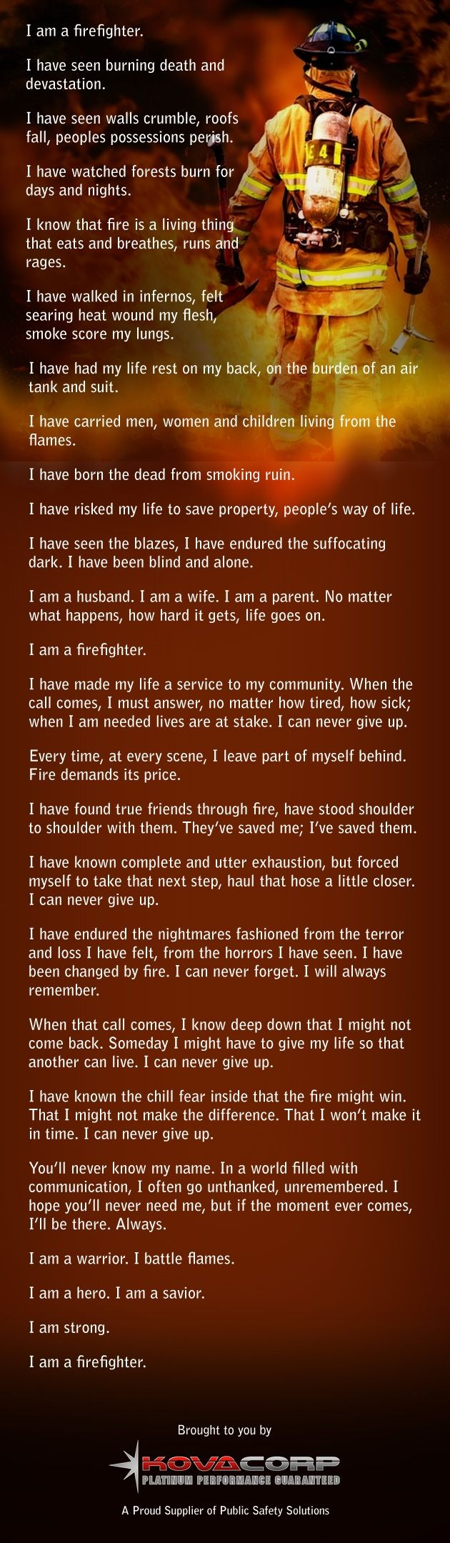 I am a #firefighter. #love this
