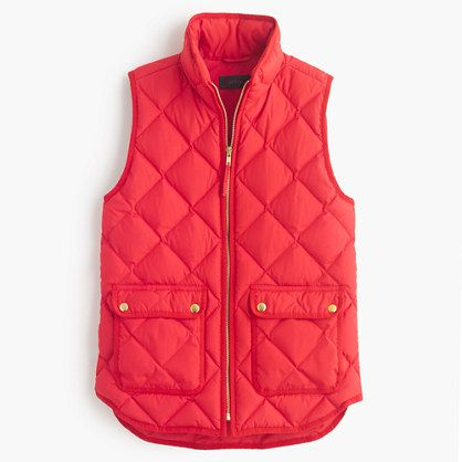 The bleached sand is pretty J.Crew - Excursion quilted down vest