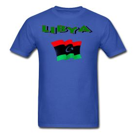 This Libyan Flag T-Shirt For Men is available at PersonalizedSouvenirs.com.