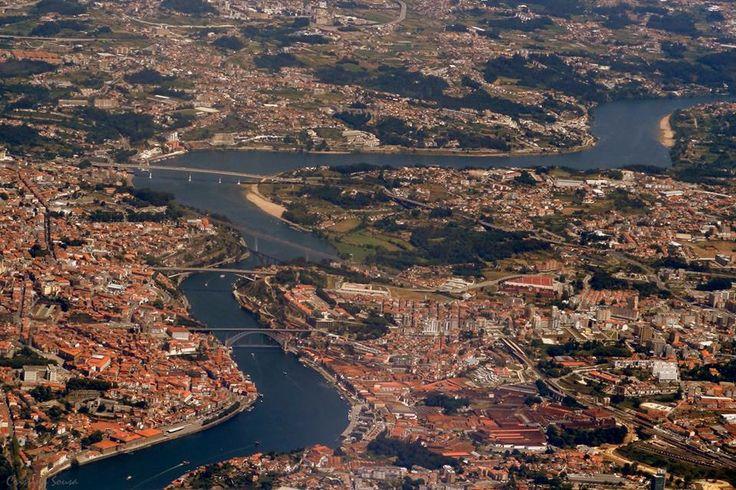 Vista aérea do Porto  Porto´s bird's eye view   © Cristina Sousa - Fotografia