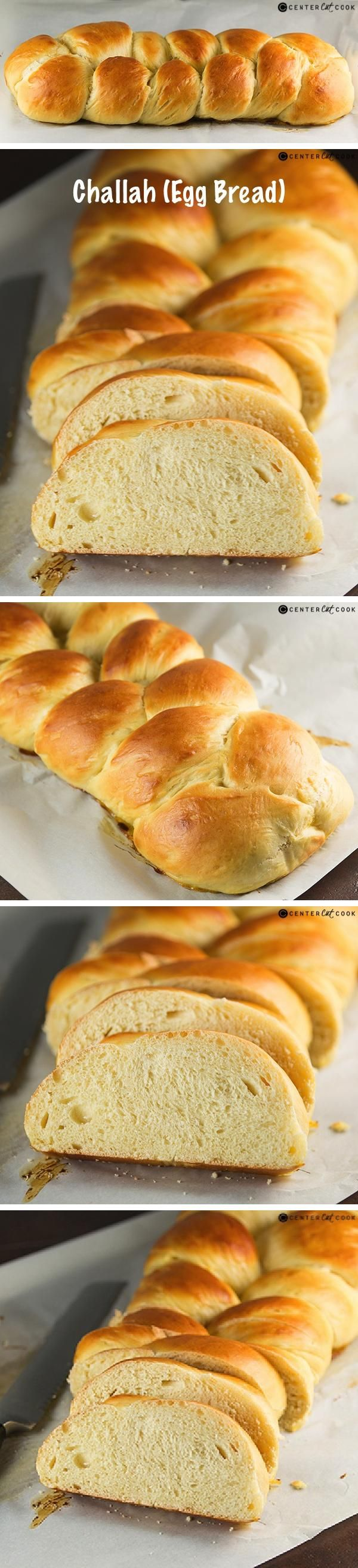 Challah (Egg Bread)! This recipe for Challah, also know as egg bread, is delicious in its own right but it also makes the most phenomenal french toast, french toast casserole, or bread pudding! No bread machine is required for this recipe!