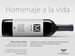 Una Tierra Diferente - Sitio Oficial de Turismo de Entre Rios - Presentación del Vino Mauro Primera Añada en Hotel Sol Victoria