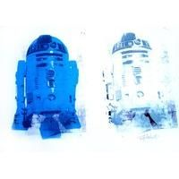 R2D2 Blue Duo By Trafford Parsons: Category: Art Currency: GBP Price: GBP80.00 Retail Price: 80.00 Trafford Parsons' extraordinary and…