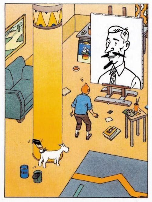 Le forum tintin :: Tintin et l'Alph-Art