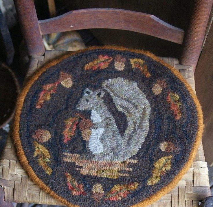Washable Primitive Rugs: Rug Hooked By Dorrie On Primitive Handmades Mercantile