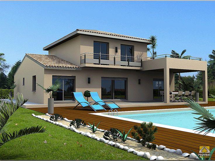 Contemporaine tage provibat mod les maisons for Modele maison etage