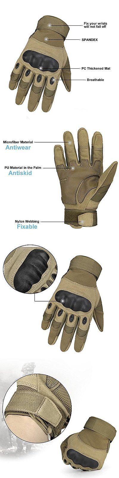 Tactical Gloves 177898: Bestoo 1 Wear Resistant Military Equipment Full Finger Tactical Gloves Airsoft L -> BUY IT NOW ONLY: $73.46 on eBay!