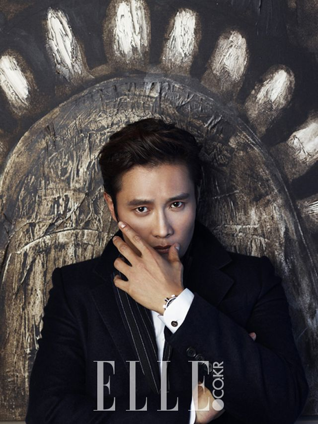 Lee Byung Hun - Elle Magazine August Issue 13