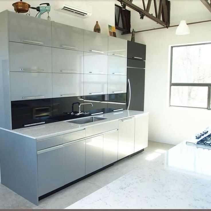 Look At The Amount Of Storage In This Kitchendesign And Prepossessing Kitchen Design And Installation Inspiration
