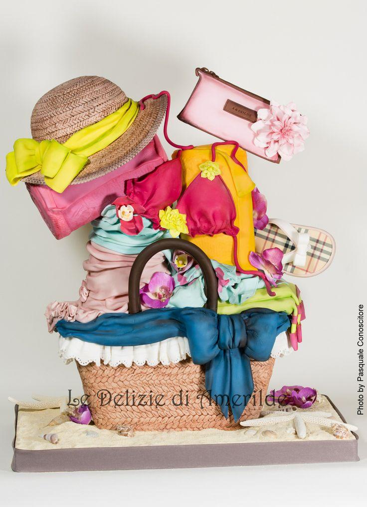 fashion summer cake
