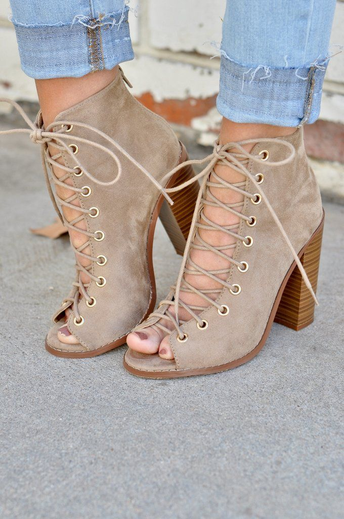 Lulus Montie Grey Suede Lace-Up Ankle Booties $45 Taye Black Peep-Toe High Heel Booties $43 Lulus Annelise Camel Suede Ankle Booties Only 5 Left! $40 Dolce Vita Caris Black Leather Pointed Toe Ankle Boots $ Select a Page 1. of 3. NEXT RECENTLY VIEWED Sign up .