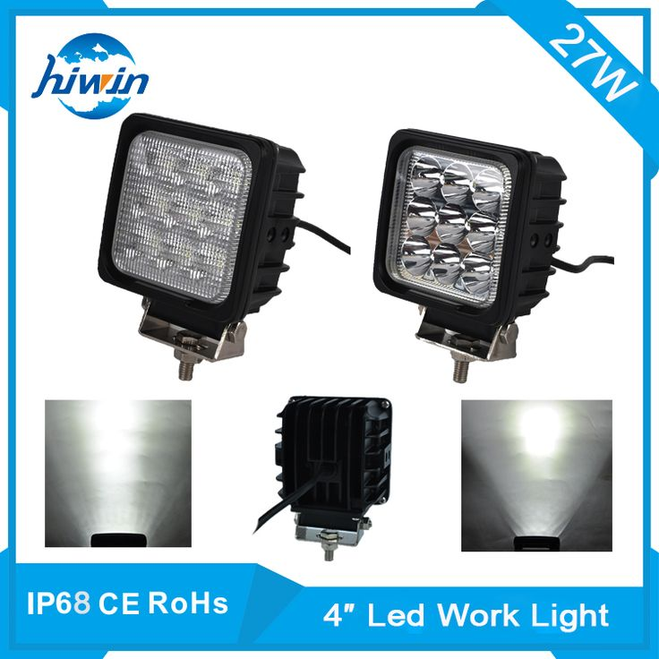 hiwin new year discount auto leds 4quot; 27w led work light 27w led work light bar YP-4027