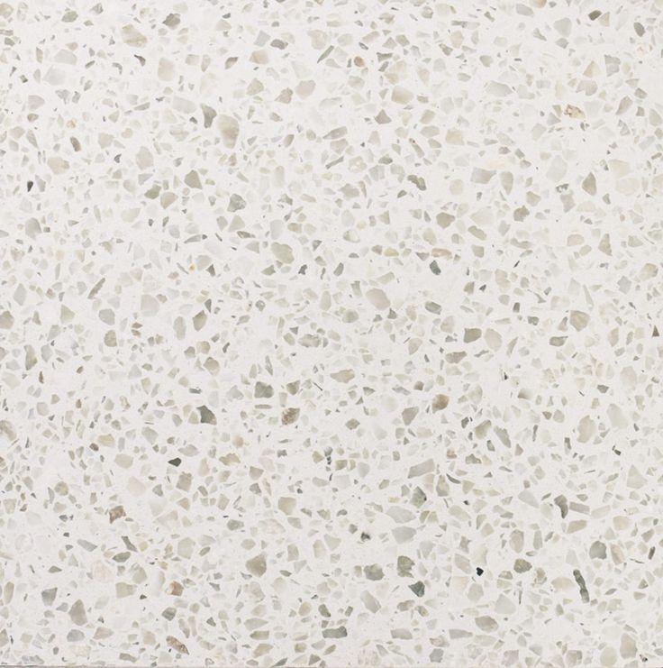 Baldosa de Terrazo Blanco Jaspe