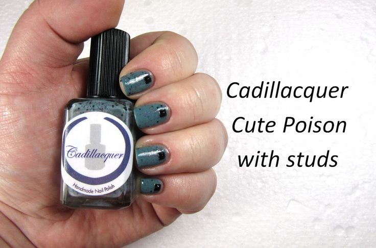Cute Poison by Cadillacquer - nailhubnz