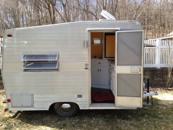 73 Shasta Compact Camper