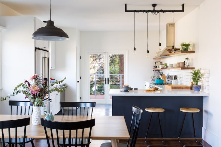 kitchen/dining room combo