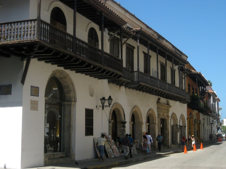 beautiful city of #Cartagena in Colombia in December 2011