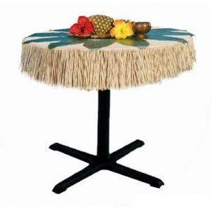 d coration hawa tour de table hawa en jupe hawa enne raphia naturel de m x 15 cm d co. Black Bedroom Furniture Sets. Home Design Ideas