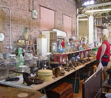 The 4th weekend of every month from Apr - Oct you can hunt hundreds of items from household goods, antiques, furniture and more at the Grafton Riverside Flea Market