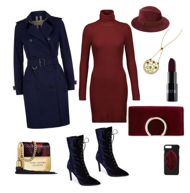 Bordo lacivert aşk 💋 by serappayas on Polyvore featuring polyvore, fashion, style, A.L.C., Burberry, Charles David, Jessica McClintock, Saks Fifth Avenue, Kendall + Kylie, Marc Jacobs and clothing