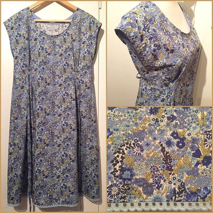 ✂️Disse kjolene er lette å sy (ingen glidelås eller knapper), behagelige å ha på og de sitter pent. Love it! #dottieangelfrock #dottieangel #simplicity1080 #sewing #kjole #klänning #dress #memade #tolvkjoler