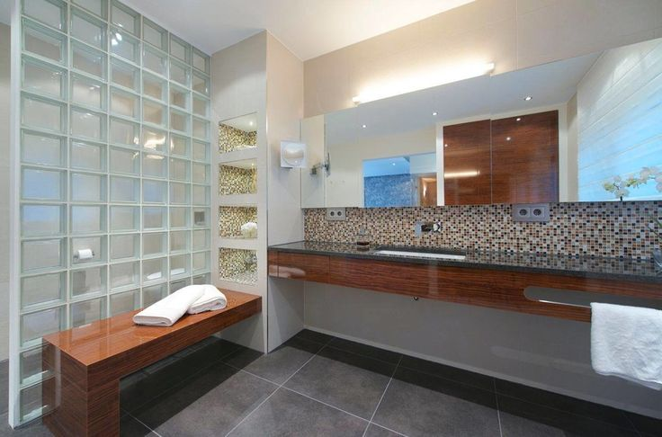 badezimmer badezimmer mosaik modern saunas modern and zuhause on pinterest - Badezimmer Mosaik Modern