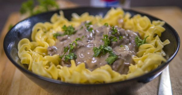Beef Stroganoff Is Our Favorite Dish This Time Of Year And This Is Our Go-To Recipe!