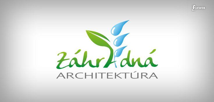 Logo design for gardening and watering company Záhradná architektúra. See website too: www.zahradna-architektura.com