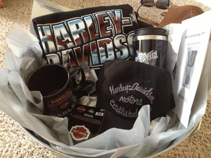 13 best harley davidson baskets images on pinterest | basket ideas