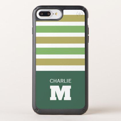 Stripes Pattern Custom Monogram phone cases - monogram gifts unique design style monogrammed diy cyo customize