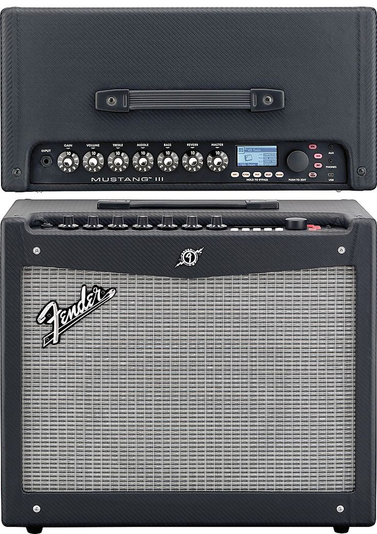 Fender Mustang 3 Amplifier. Why I haven't gotten one of these yet is beyond me. Every single one I've played through has impressed me to no end for it's price range. Granted, it's no Mesa; but hauling my Late-70's Turbo-Twin to gigs is against Doc's orders these days, LOL. Besides, this little ᵇᵅᵇᵞ is überfun! I'll be expecting one for my birthday (FYI ;-)