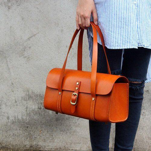 Handmade кожаные винтажные сумки женщин мешок плеча мешок покупателя | Evergiftz
