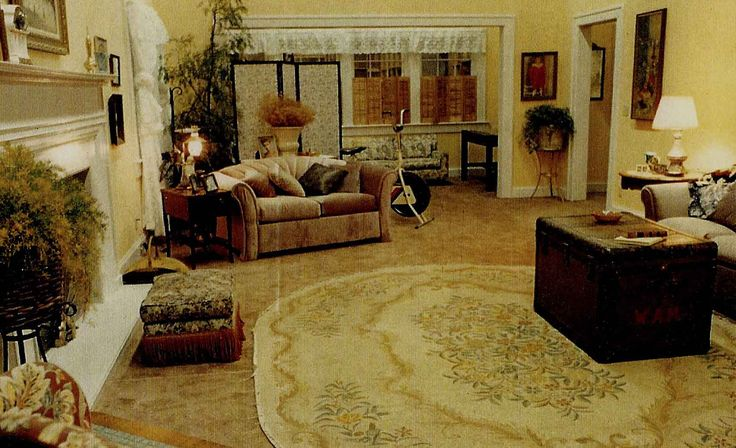 The Palmers living room.Set design for Twin Peaks by Richard Hoover